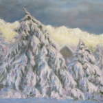 Winterscapes Exhibit - Orillia Opera House, Green Room