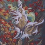 """Autumn"" - OFAA Group Exhibit at the White Lions Tea House"